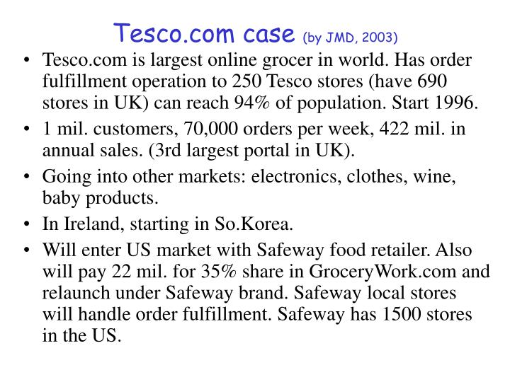 Tesco.com case