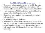 tesco com case by jmd 2003