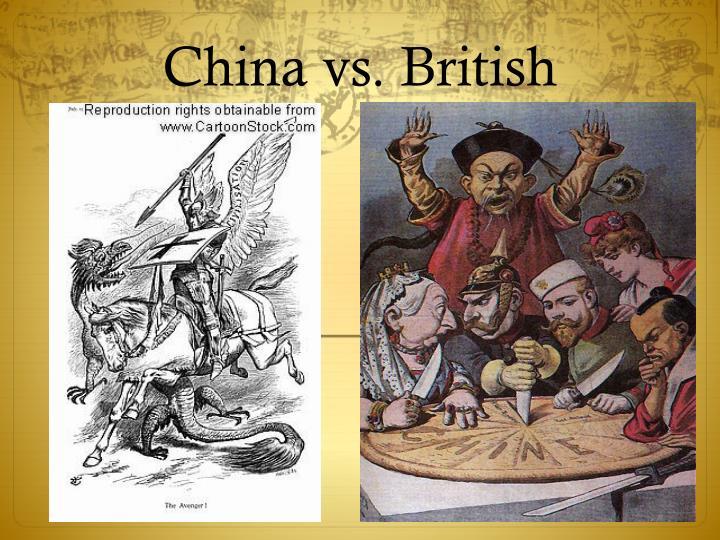 China vs. British