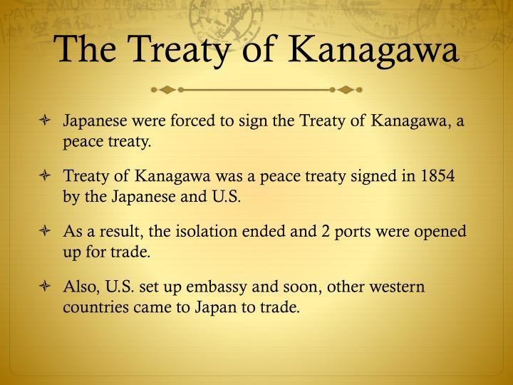 The Treaty of Kanagawa