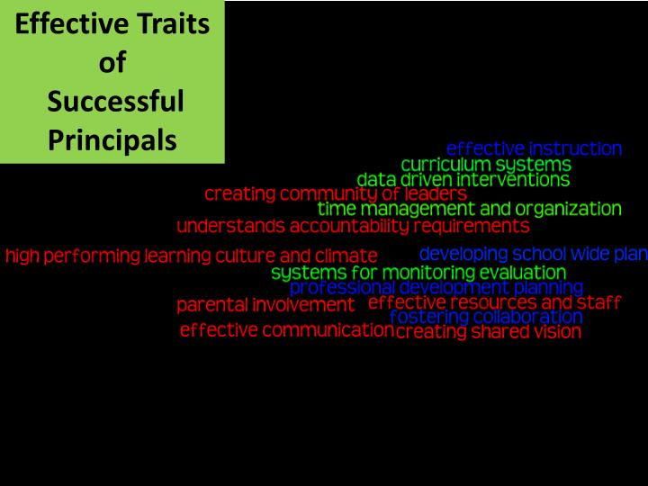 Effective Traits