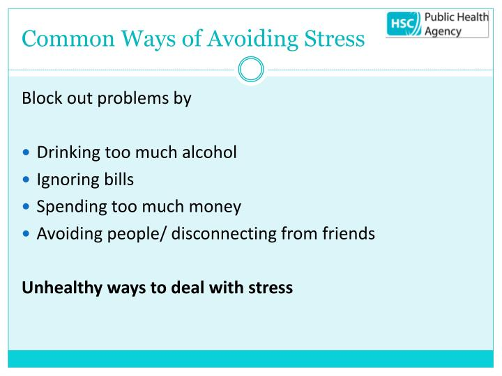 Common Ways of Avoiding Stress