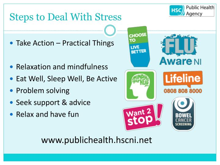Steps to Deal With Stress