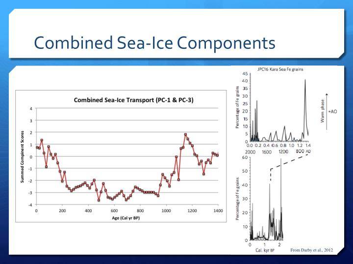 Combined Sea-Ice Components