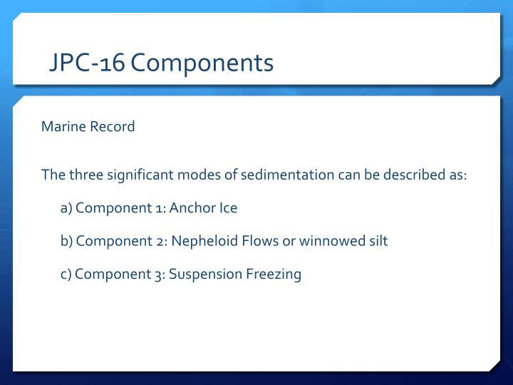 JPC-16 Components