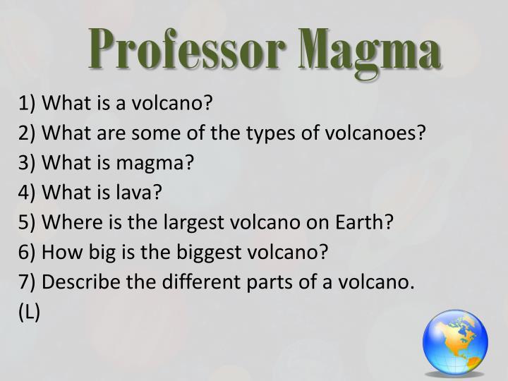 Professor Magma