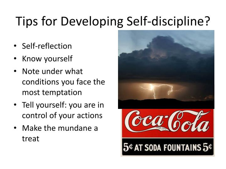 Tips for Developing Self-discipline?