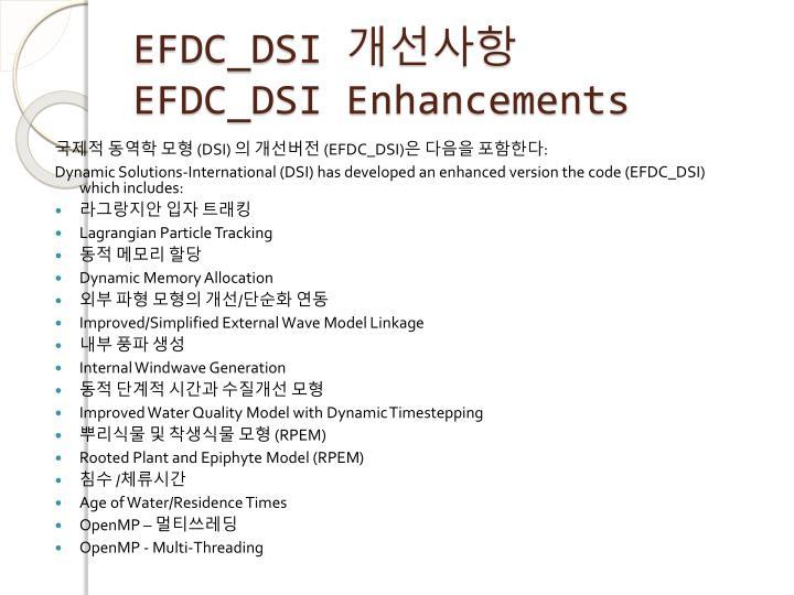 EFDC_DSI