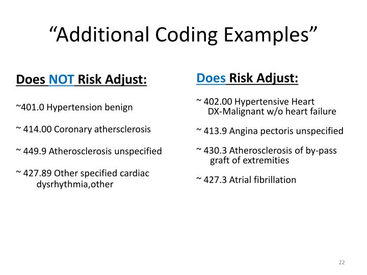 """""""Additional Coding Examples"""""""