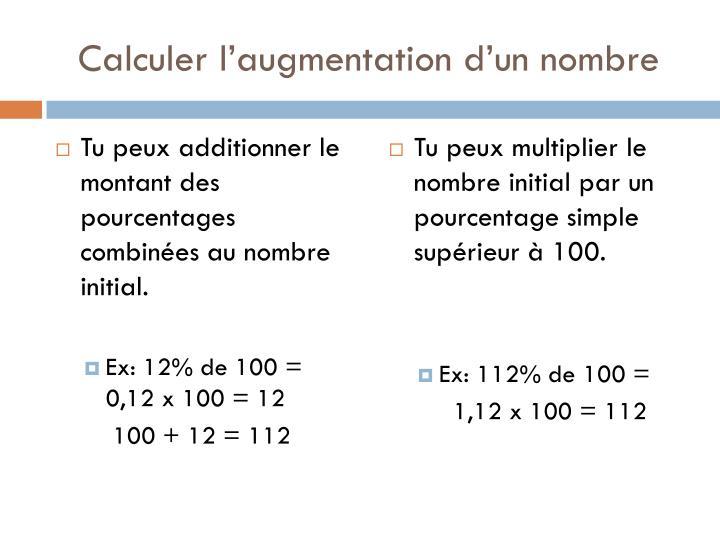 Ppt combiner des pourcentages powerpoint presentation for Calculer le nombre de parpaing