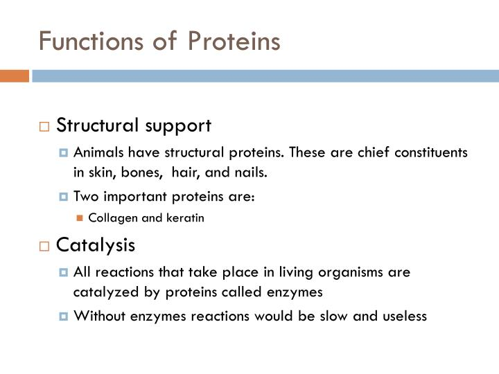 Functions of proteins1