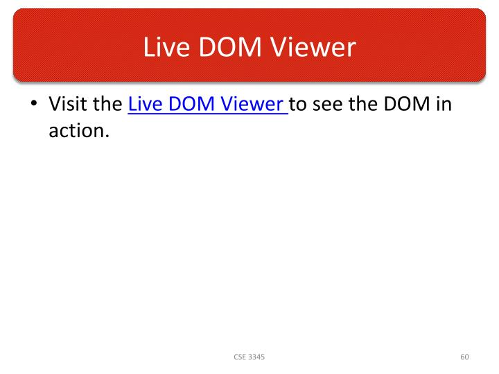 Live DOM Viewer