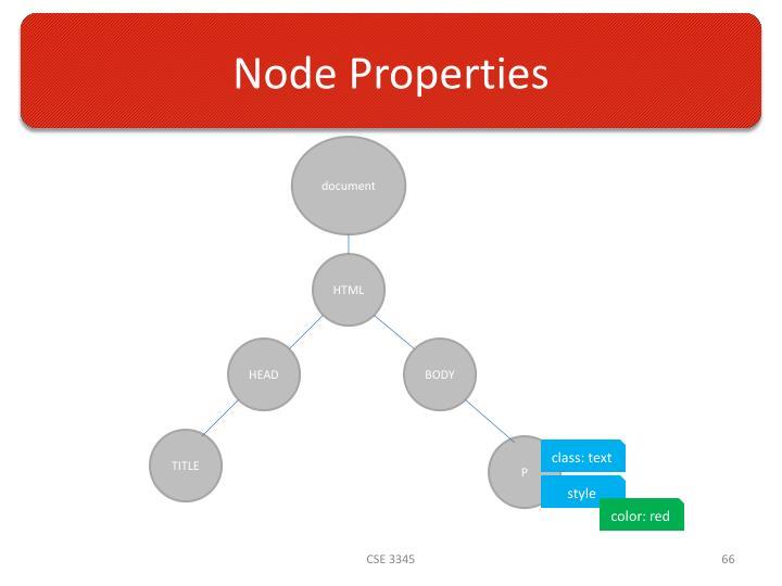 Node Properties