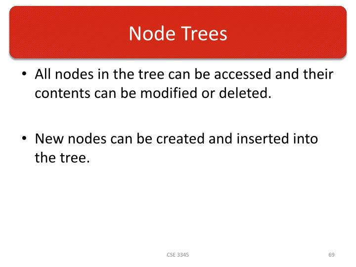 Node Trees