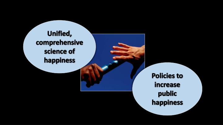 Unified, comprehensive science of happiness