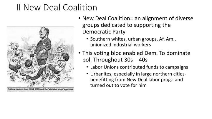 II New Deal Coalition