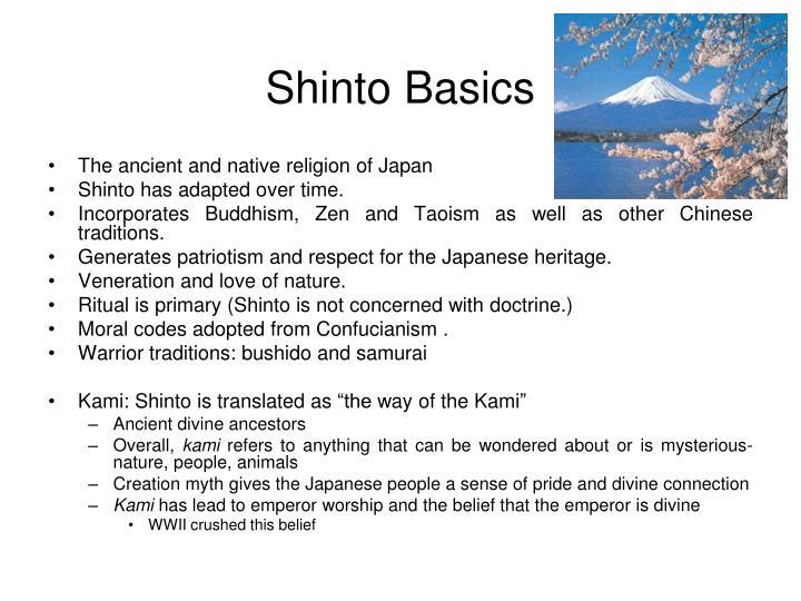 Shinto Basics