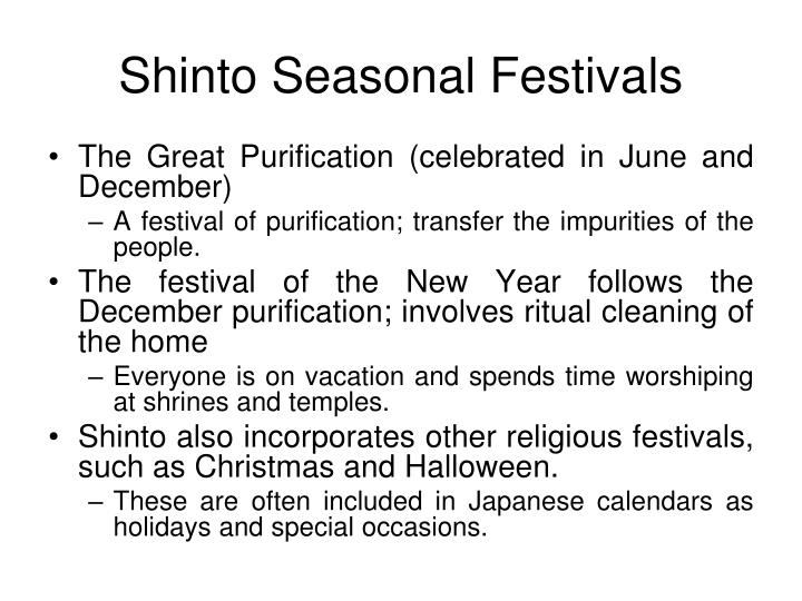 Shinto Seasonal