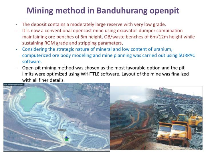 Ppt Mining Of Uranium In India A N Overview By Satish Kumar Verma Powerpoint