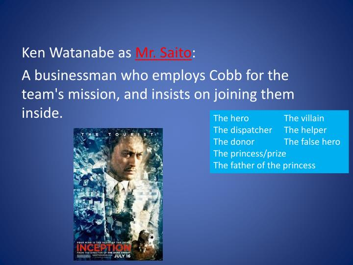 Ken Watanabe as