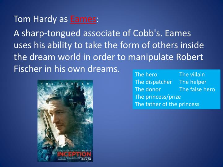 Tom Hardy as