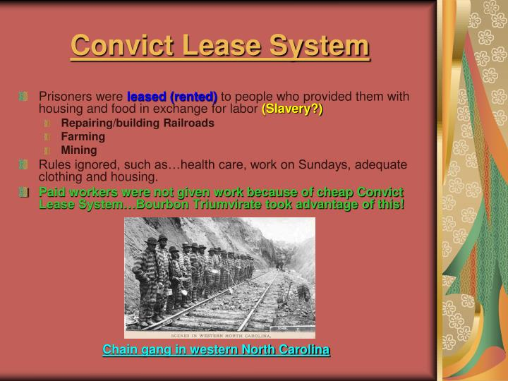 Convict Lease System