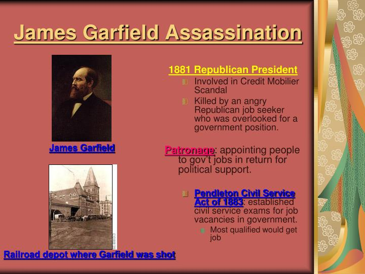 James Garfield Assassination