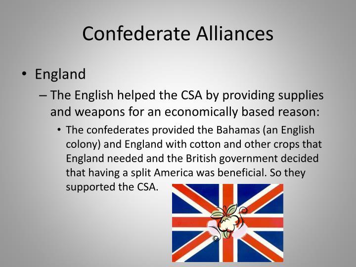 Confederate Alliances
