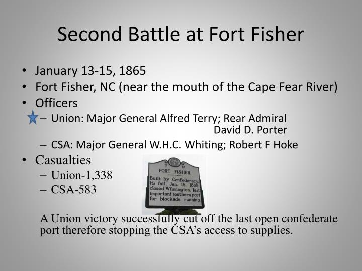 Second Battle at Fort Fisher