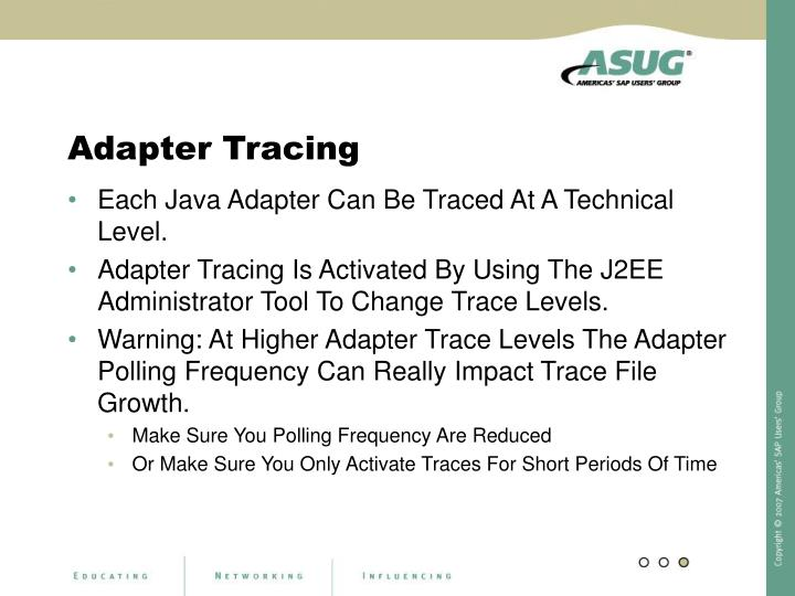 Adapter Tracing