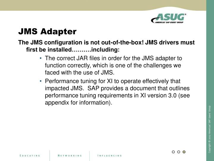 JMS Adapter