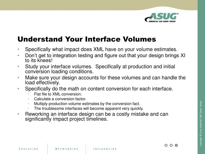 Understand Your Interface Volumes