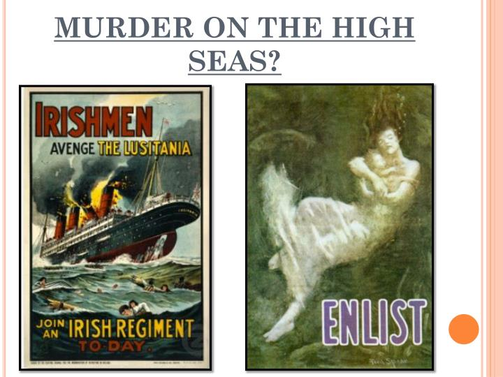 MURDER ON THE HIGH SEAS?
