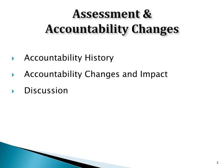 Assessment &