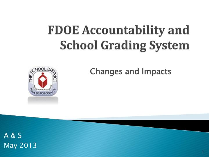 fdoe accountability and school grading system