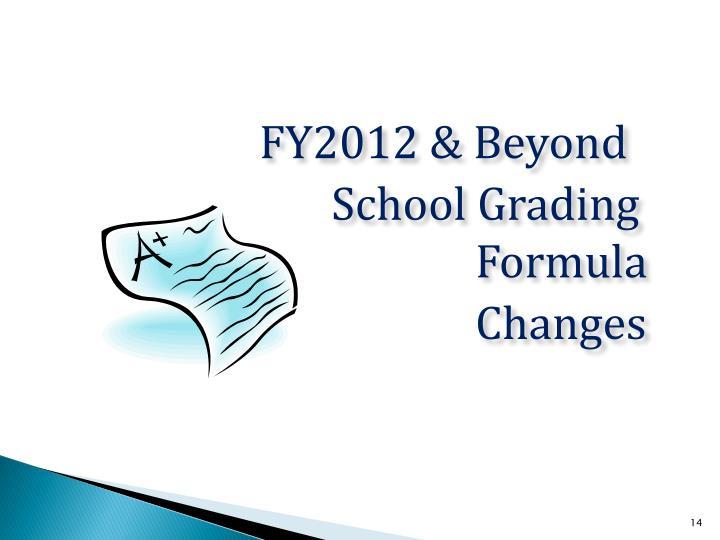 FY2012 & Beyond
