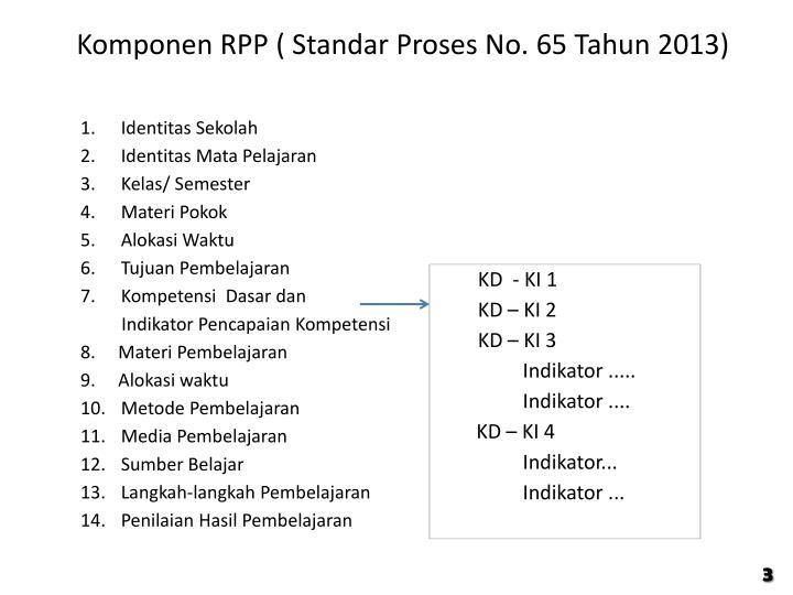 Komponen RPP