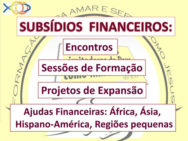 SUBSÍDIOS  FINANCEIROS: