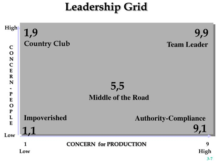 Leadership Grid