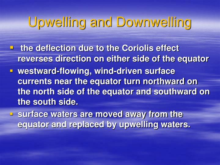 Upwelling and
