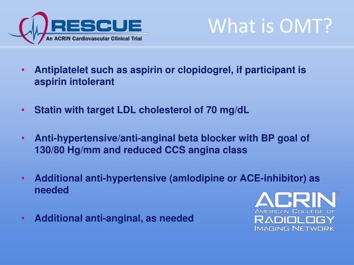 What is OMT?