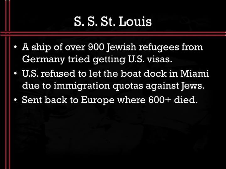 S. S. St. Louis
