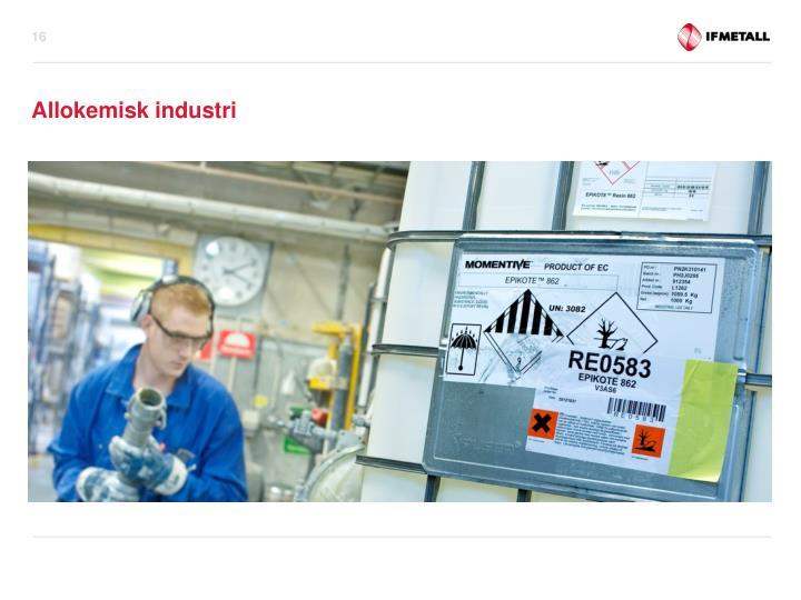 Allokemisk industri