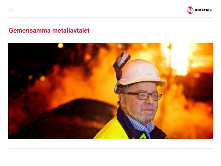 Gemensamma metallavtalet