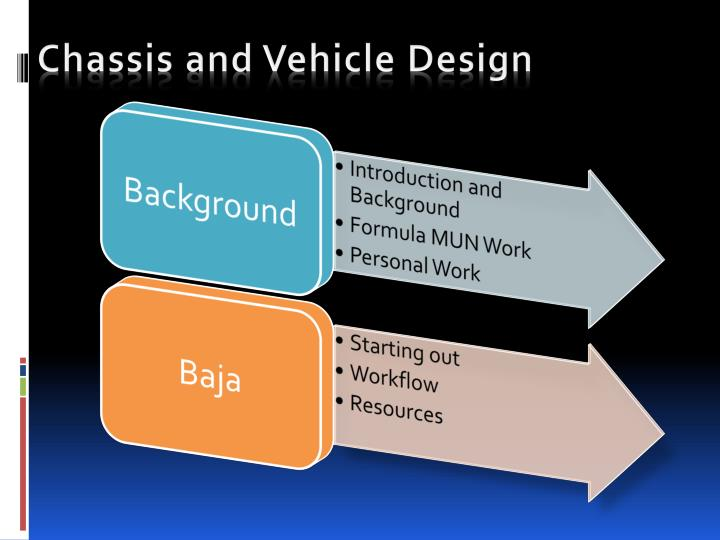 Chassis and vehicle design