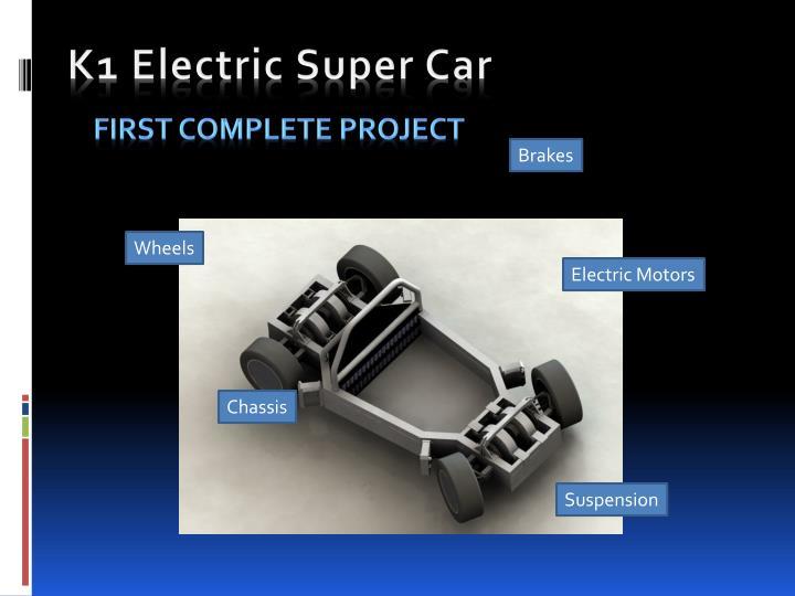 K1 Electric Super Car