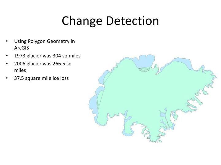 Change Detection