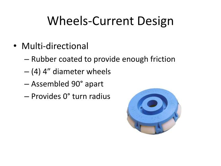 Wheels-Current Design