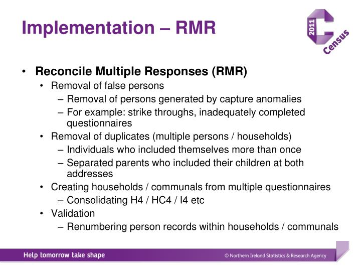 Implementation – RMR
