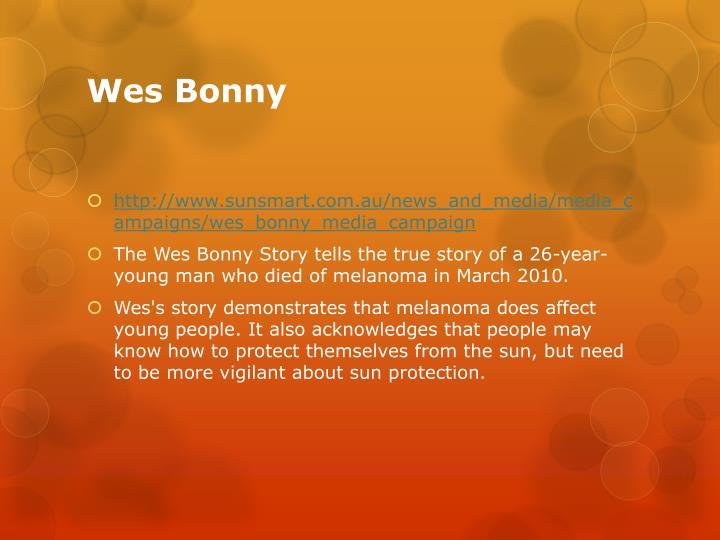Wes Bonny
